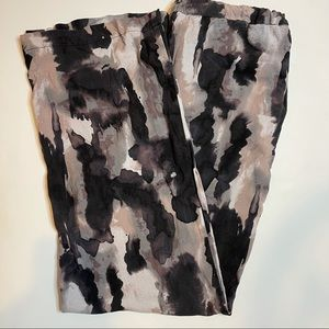 H&M Divided Bleach tie dye wide leg comfy pants size 6